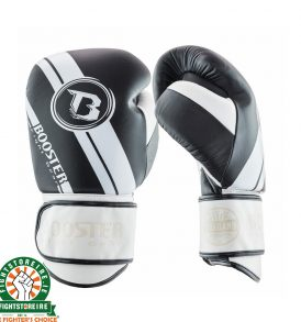 Booster PRO V3 Boxing Gloves - Black/White/Black