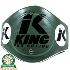 King Pro Boxing Belly Pad - Green