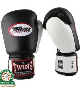 Twins BGVL3 Thai Boxing Gloves - Black/White
