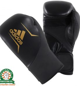 Adidas Speed 200 Boxing Gloves - Black