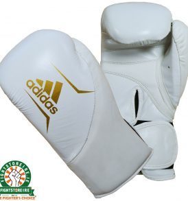 Adidas Speed 200 Boxing Gloves - White