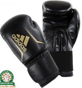 Adidas Speed 50 Boxing Gloves - Black/Gold