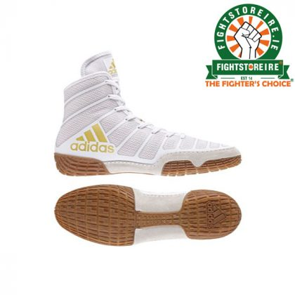 Adidas Varner Wrestling Boots - White
