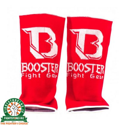 Booster PRO Range Ankle Guards - Red