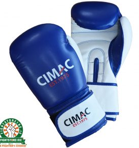 CIMAC Artificial Leather Boxing Gloves - Blue