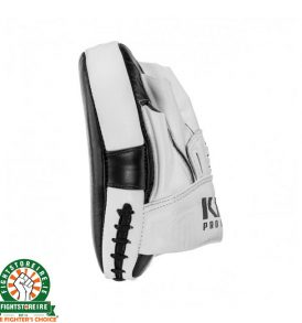 King Pro Focus Mitts - White/Black