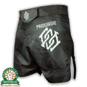 PRiDE or DiE Dark Matter MMA Shorts