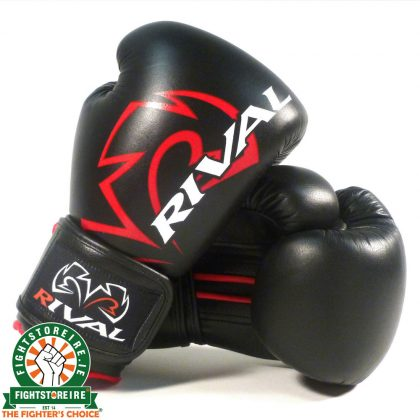 Rival Classic Sparring Gloves - RS4 Black | Fight Store IRELAND