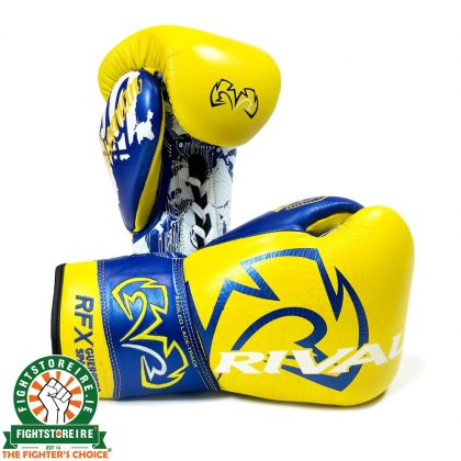 Rival LOMA Series RFX Guerrero Sparring Gloves - Yellow/Blue