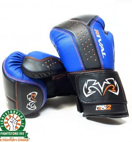 Rival RB10 Intelli-Shock Bag Gloves - Black/Blue