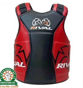 Rival RBP One Body Protector - Black/Red