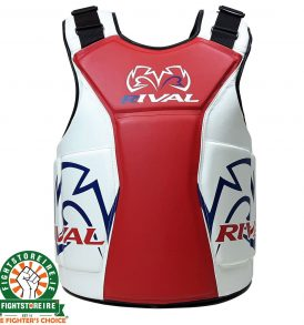 Rival RBP One Body Protector - White/Red