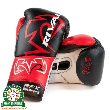 Rival RFX-Guerrero Pro Fight Gloves - SF-F - Black/Red/White