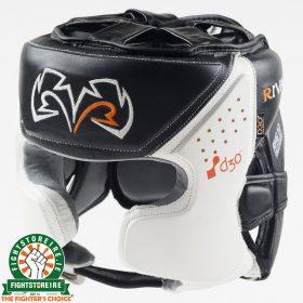 Rival RHG10 Intelli Shock Headguard - Black/White | Fightstore IRELAND