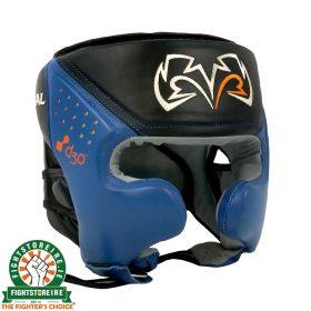 Rival RHG10 Intelli Shock Headguard - Black/Blue