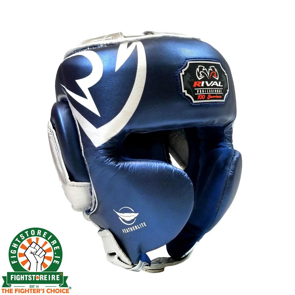 adidas Boxing Headguard Rookie Training Headgear MMA MuayThai Kick Boxing-BLUE