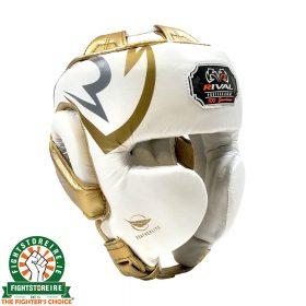 Rival RHG100 Professional Headgear - White