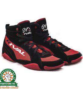 Rival RSX GUERRERO Classic Lo Top Boxing Boots - Black/Red