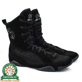 Rival RSX ONE Classic HiTop Boxing Boots - Black