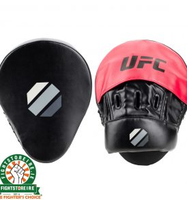 UFC Curved Focus Mitts - Black/Red