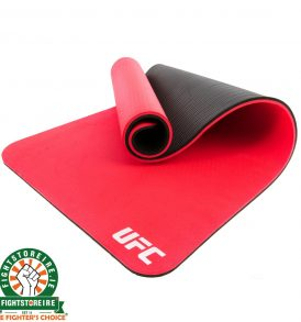 UFC Double Sided Training Mat - Black/Red