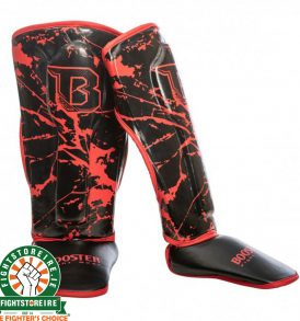 Booster Marble Red Kids Shinguards