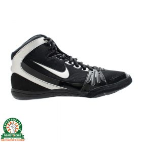 Nike Freek Limited Edition Wrestling Shoes - Black/Metallic Silver