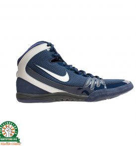 Nike Freek Limited Edition Wrestling Shoes - Obsidian/Metallic Silver