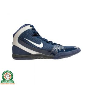 Nike Freek Limited Edition Wrestling Shoes - Obsidian/Metallic Silver