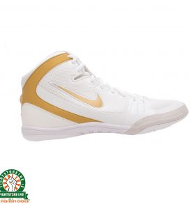 Nike Freek Limited Edition Wrestling Shoes - White/Metallic Gold