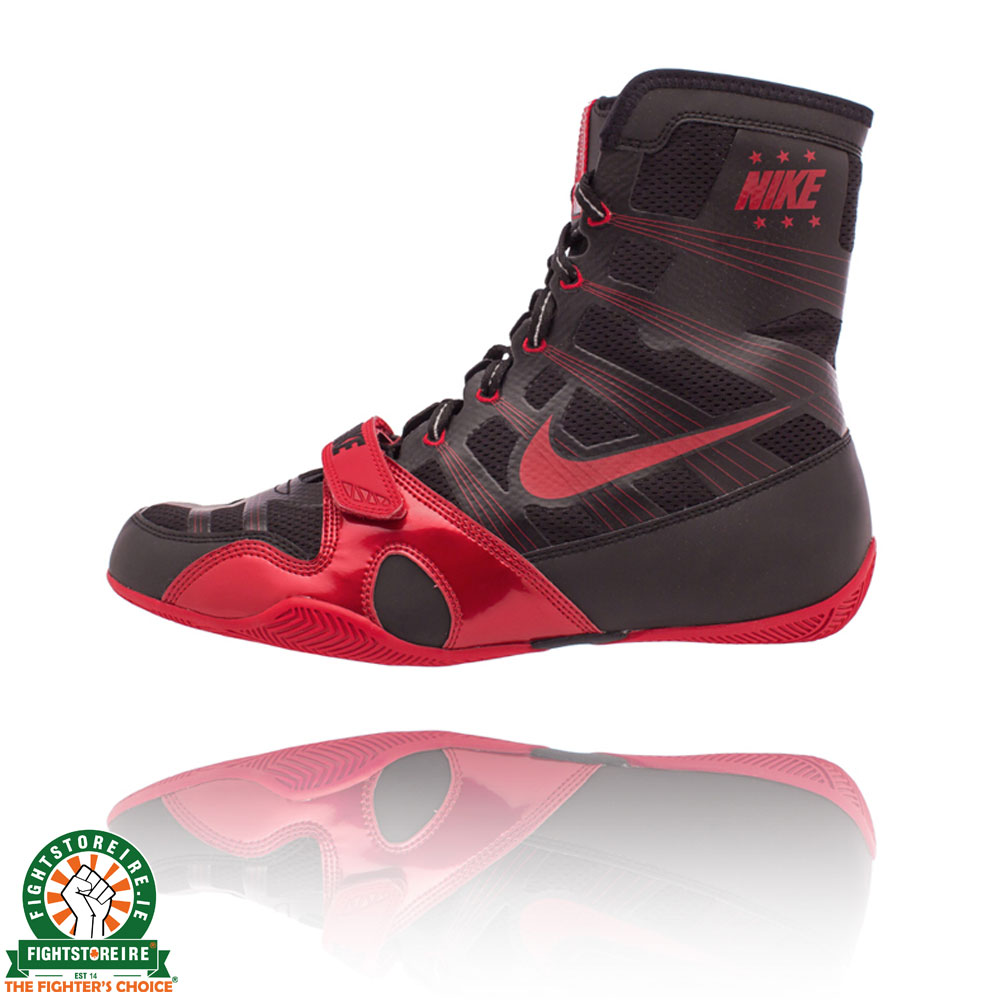 Nike Hyper KO Boxing Boots - Black/Red | Fight Store IRELAND