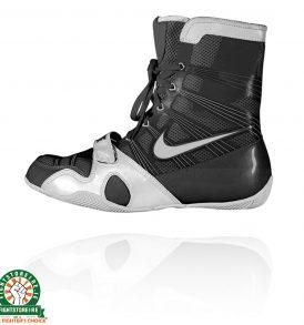Nike Hyper KO Boxing Boots - Black/Silver