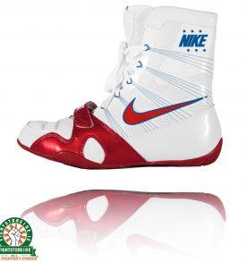 Nike Hyper KO Boxing Boots - White/Royal/Red