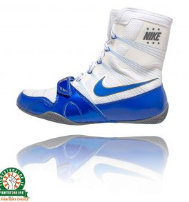 Nike Hyper KO Boxing Boots - White/Game Royal