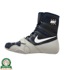 Nike Hyper KO Limited Edition Boxing Boots - Midnight Navy/White/Silver