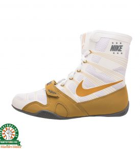 Nike Hyper KO Limited Edition Boxing Boots - White/Metallic Gold