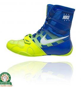 Nike HyperKO Boxing Boots - Volt/White/Game Royal