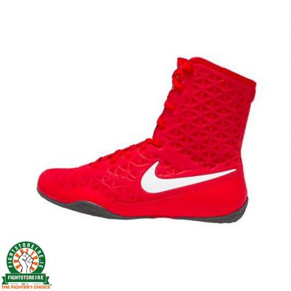Nike KO Boxing Boots - Red