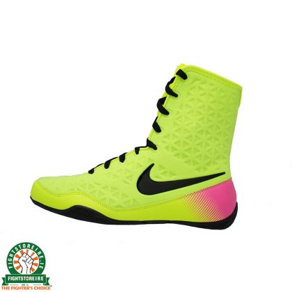Nike KO Unlimited Boxing Boots - Neon Yellow