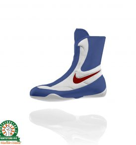 Nike Machomai Mid Boxing Boots - Red/White/Blue