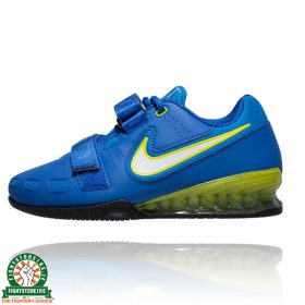 Nike Romaleos 2 Weightlifting Shoes - Blue/Yellow