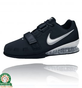 Nike Romaleos 2 Women's Weightlifting Shoes - Black/Silver