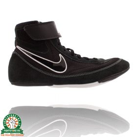Nike Youth SpeedSweep VII Wrestling Shoes - Black
