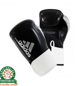 Adidas Hybrid 65 Boxing Gloves - Black/White