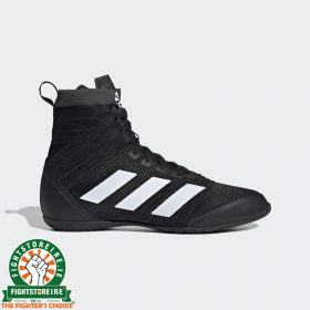 Adidas Speedex 18 Boxing Boots - Black/White