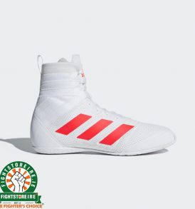 Adidas Speedex 18 Boxing Boots - White