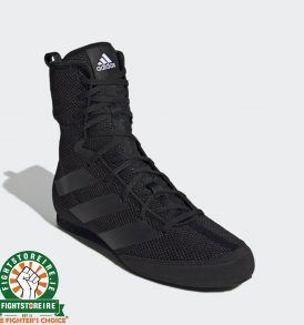 Adidas Box Hog 3 Boxing Boots - Black