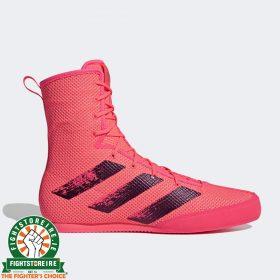 Adidas Box Hog 3 Boxing Boots - Pink