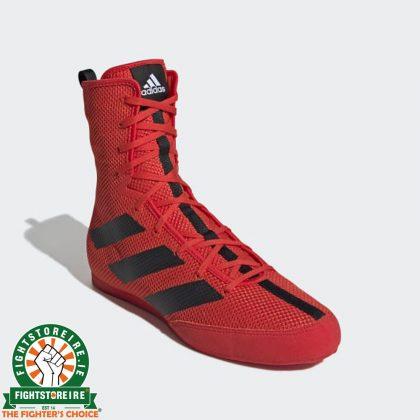 Adidas Box Hog 3 Boxing Boots - Red