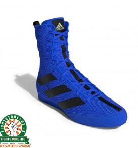 Adidas Box Hog 3 Boxing Boots - Royal Blue